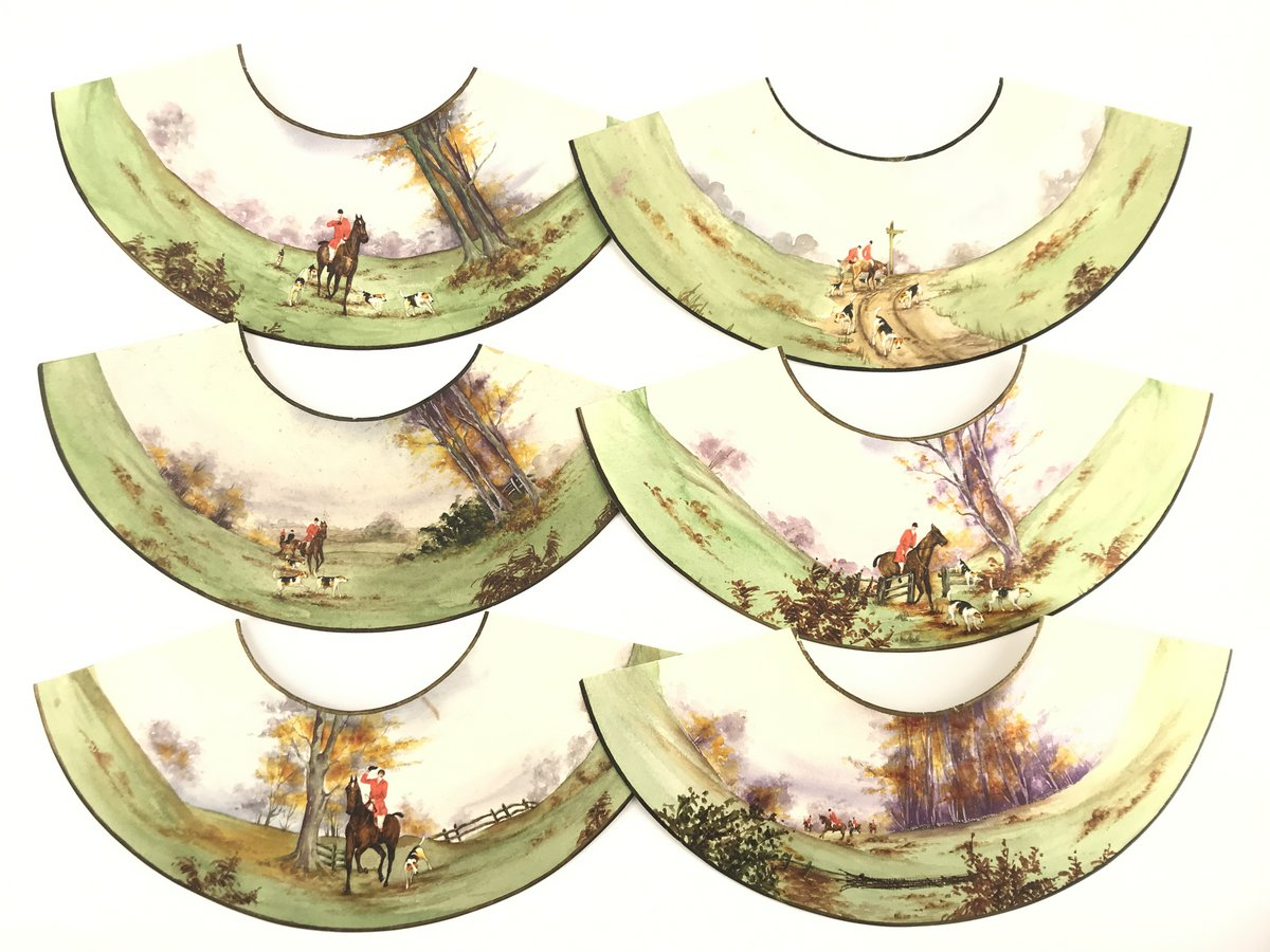 Painted Paper Candlestick Shades