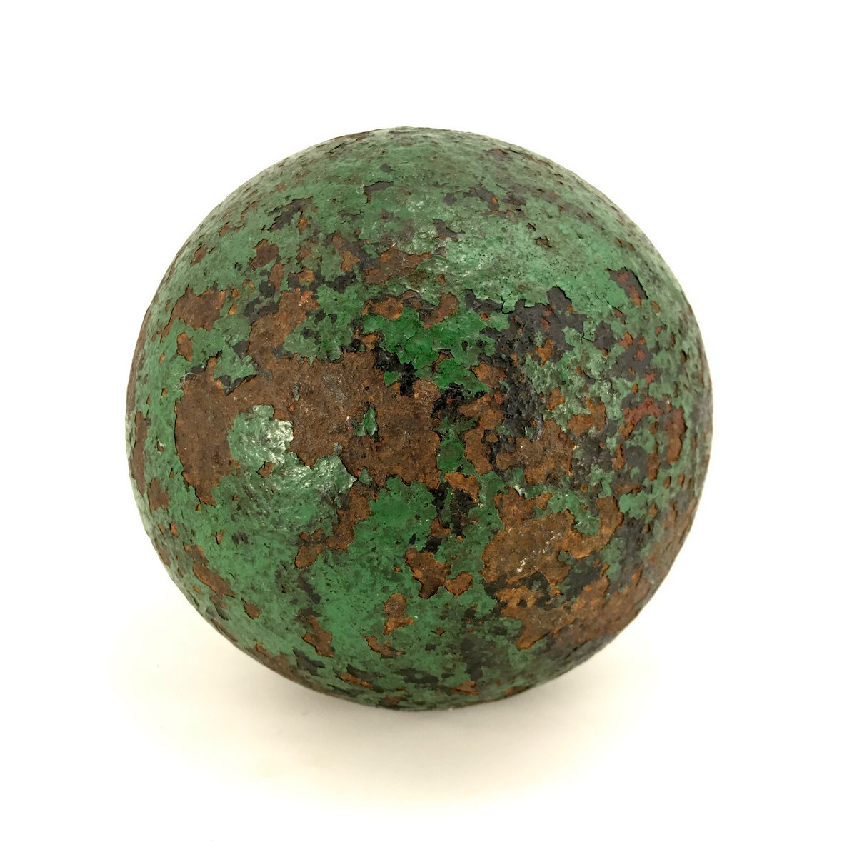 A 19thC. Cannon Ball