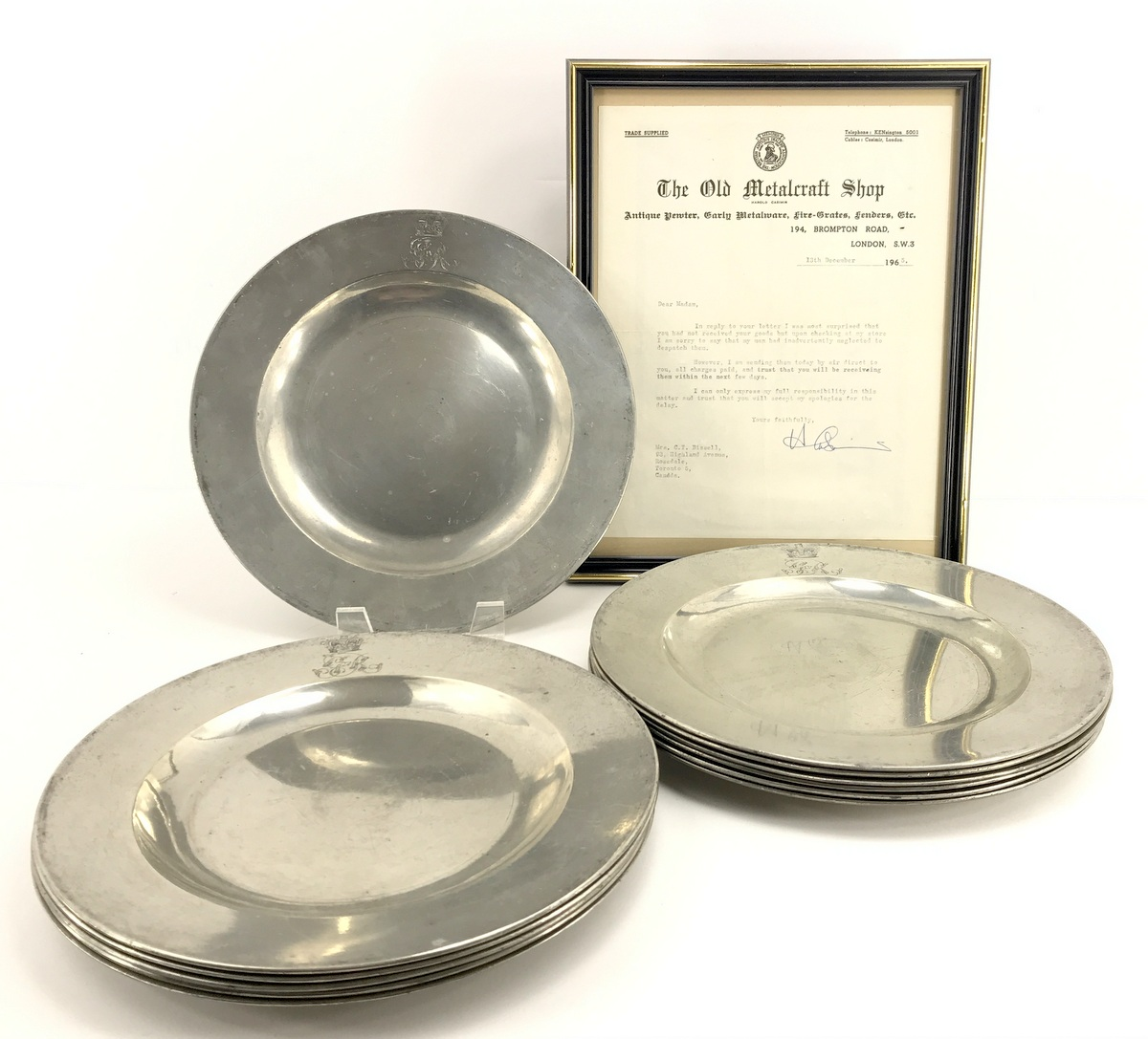 George IV Coronation Plates