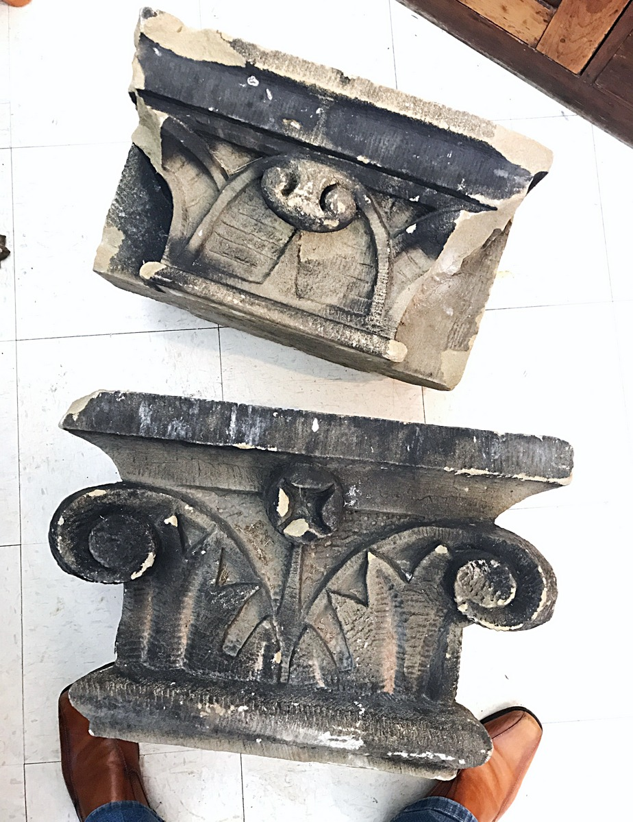 Historic Stone Building Fragments