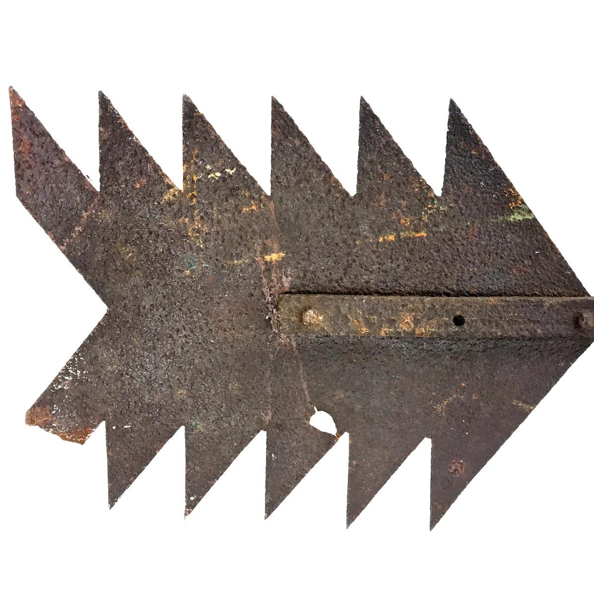 Large Iron Arrow Weathervane