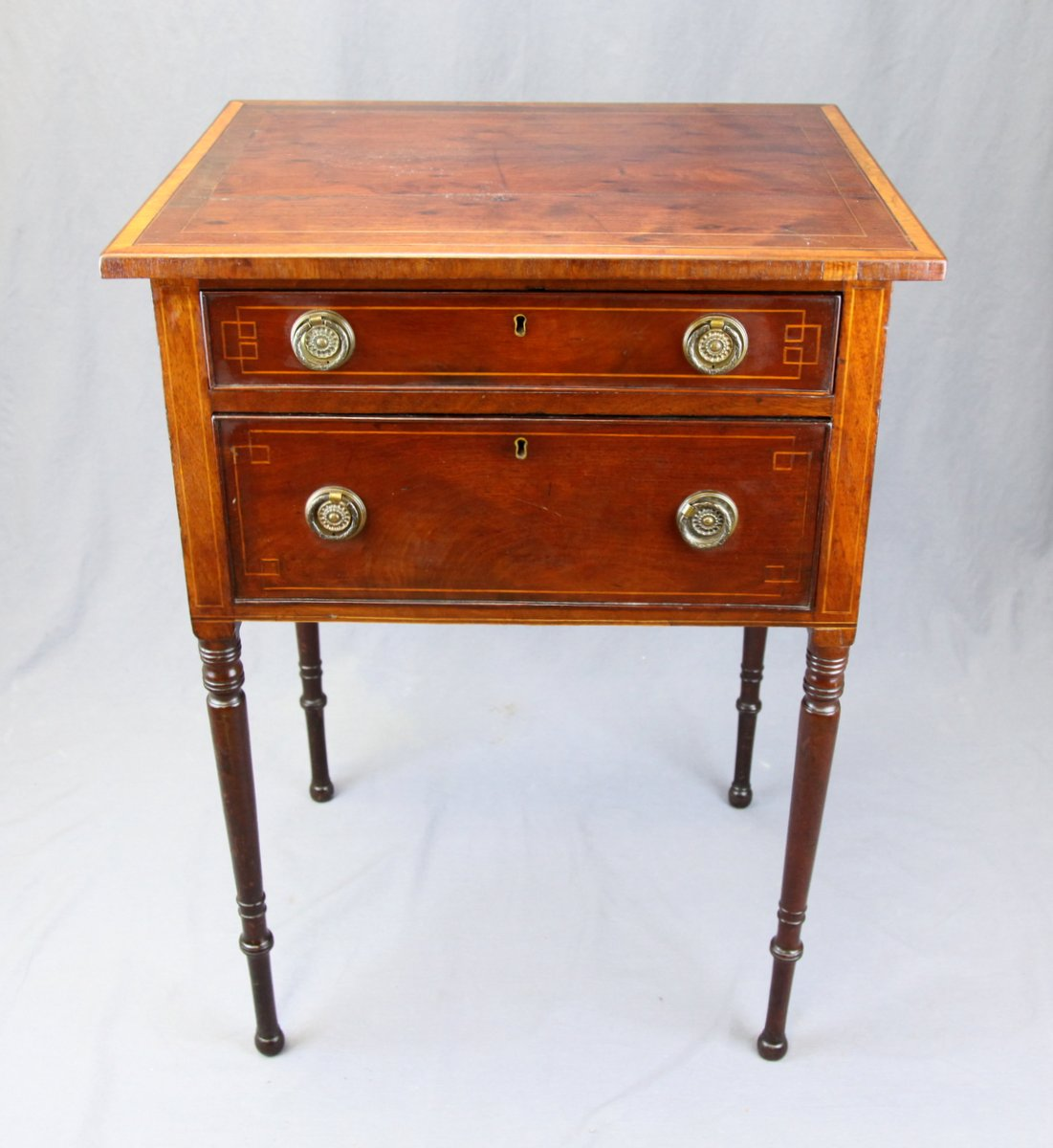 Halifax 2-Drawer Stand, Possibly Tulles