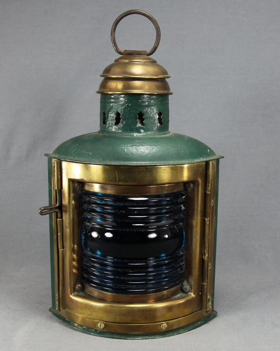 Green Perko Boat Lamp