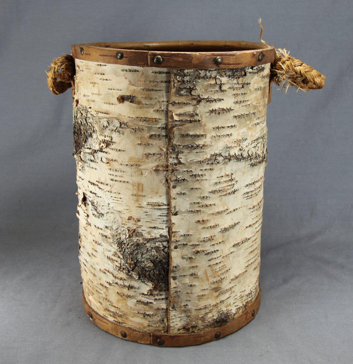 Mi'kmaq Birchbark Container