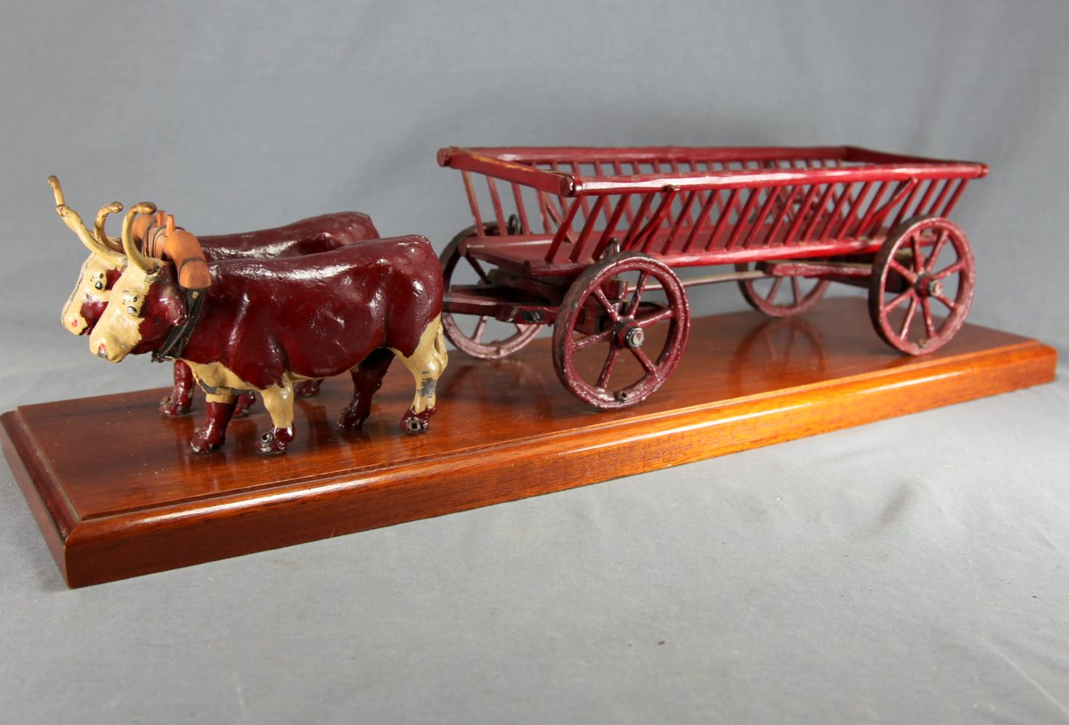 Oxen & Hay Wagon