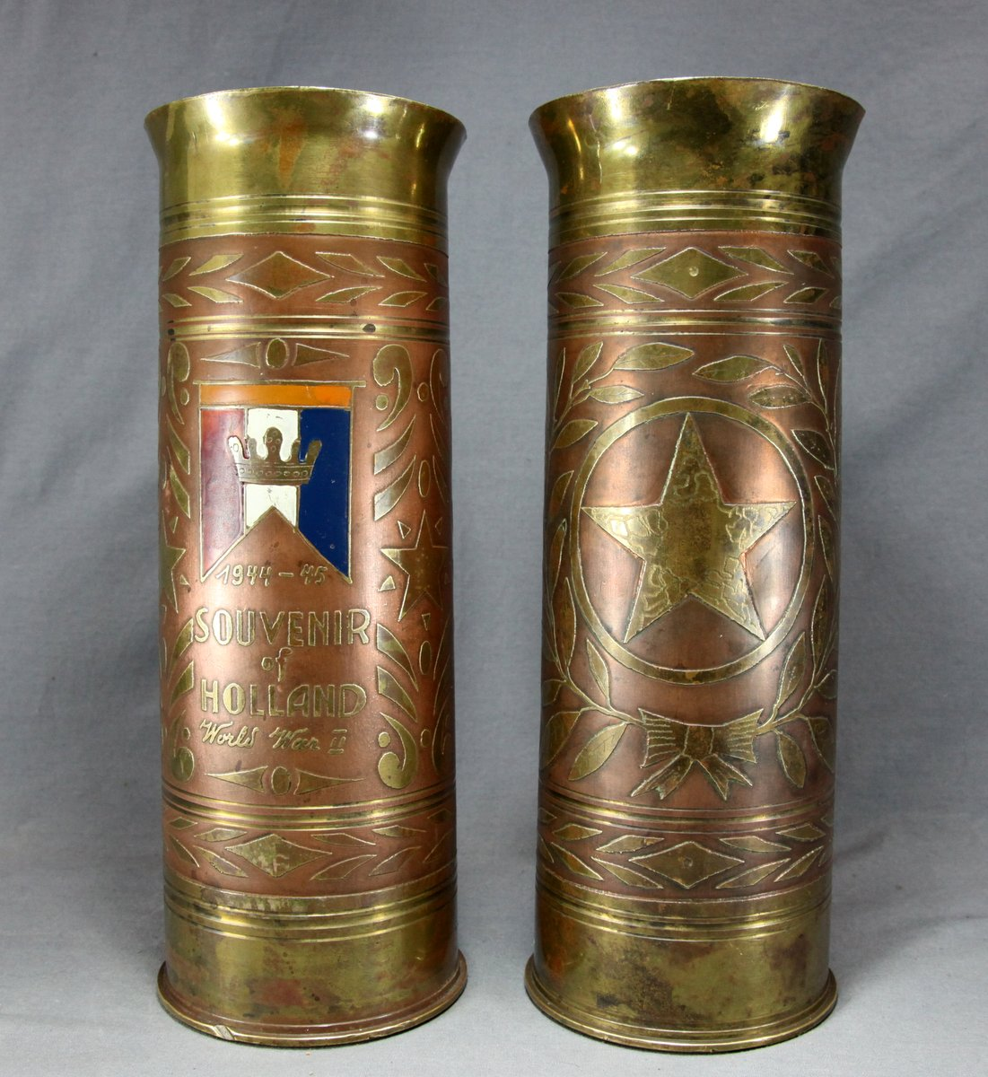 Trench Art Artillery Shells