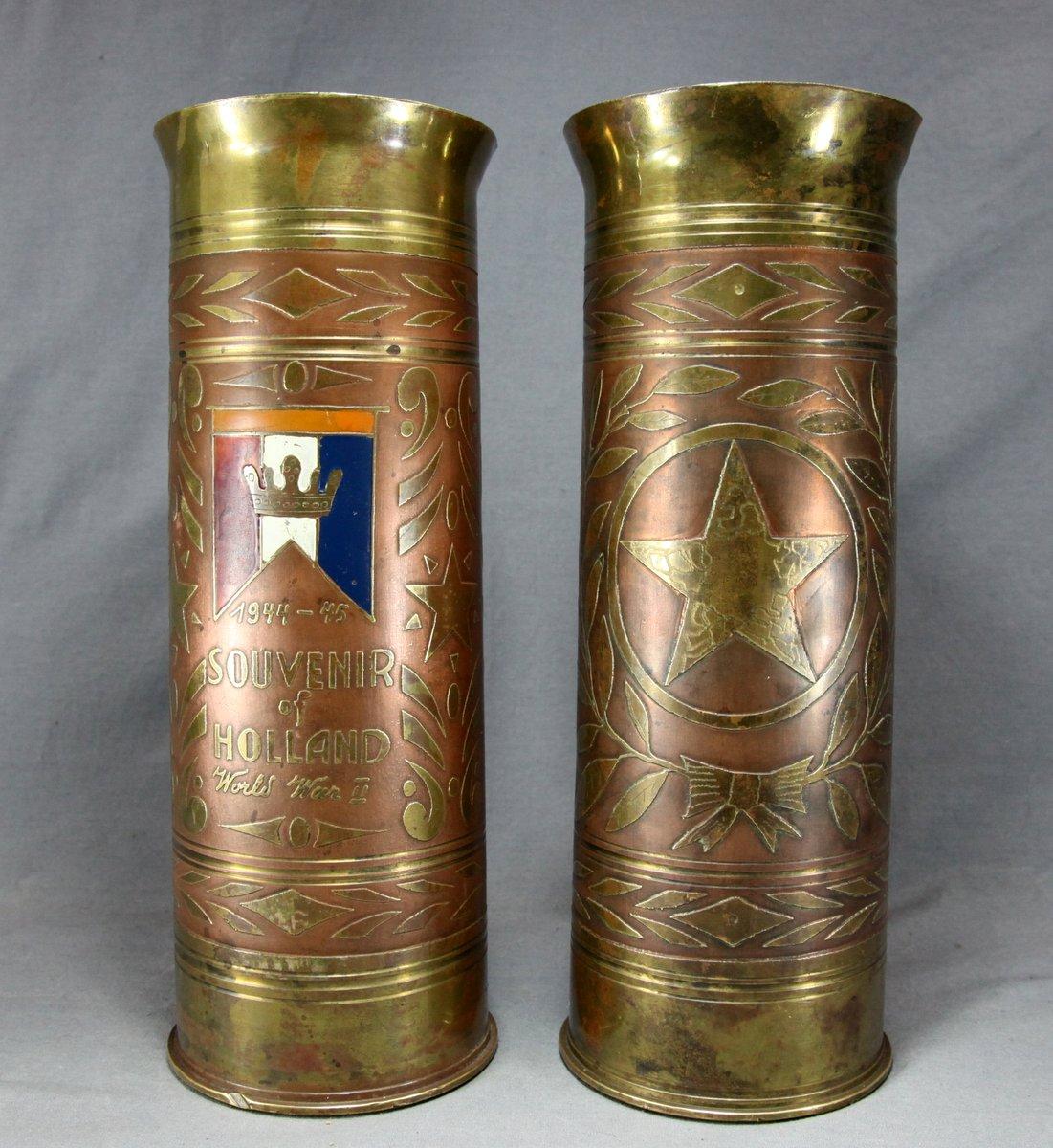 Trench Art Artillery Shells