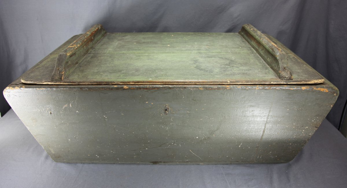 Painted Dough Box