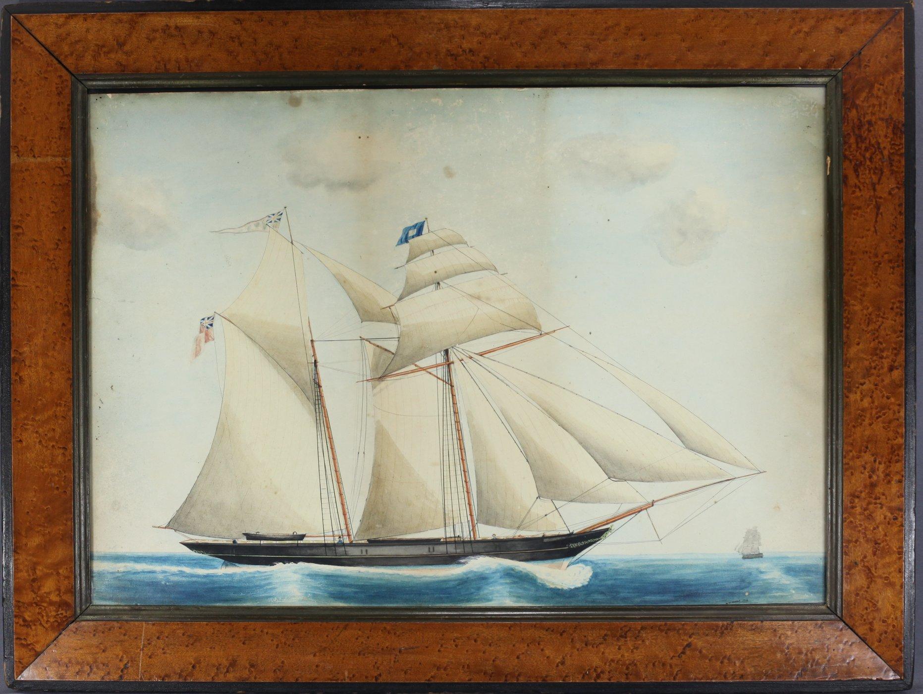 Ship's Portrait Painting
