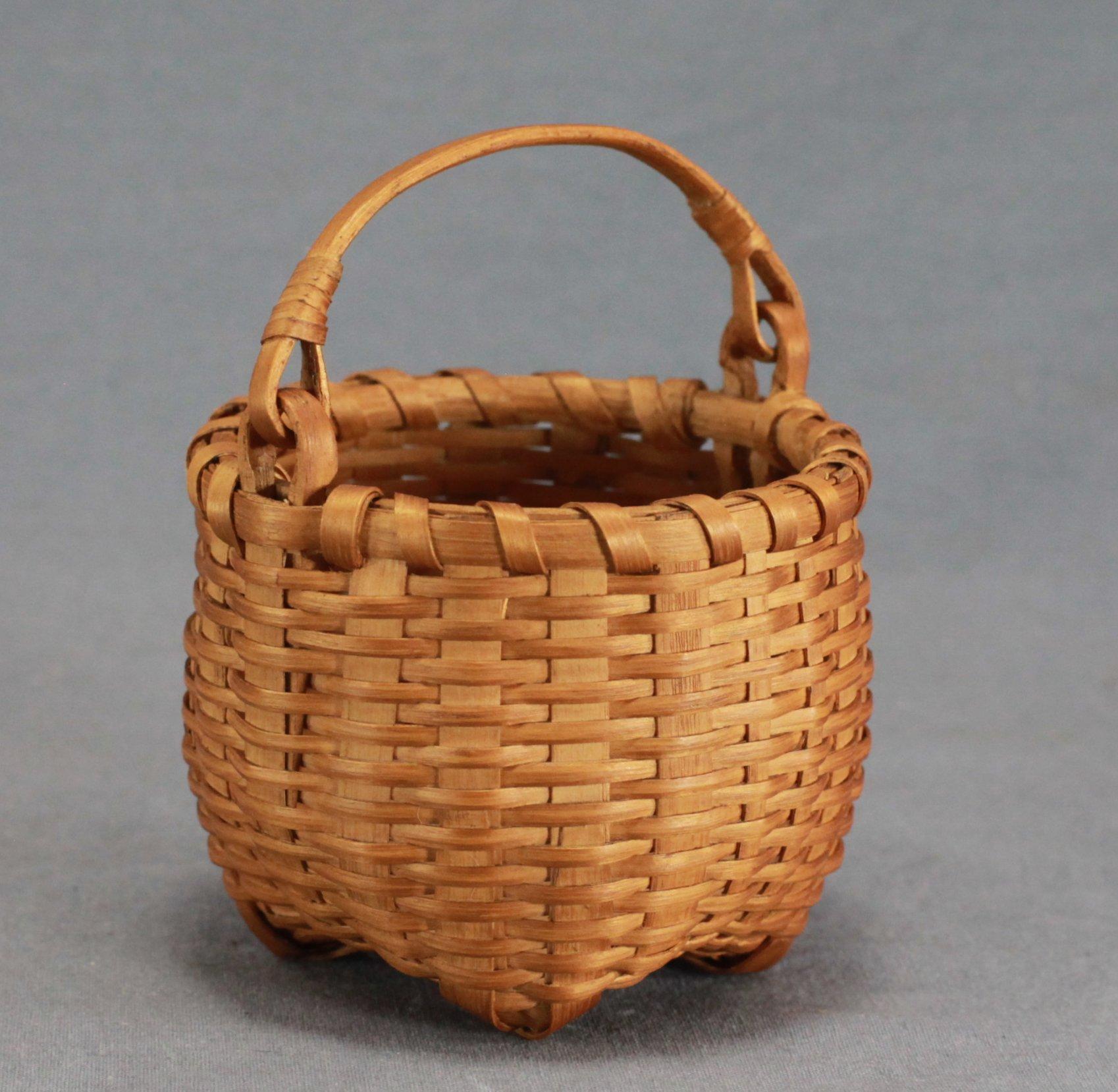 Miniature Ash Splint Basket