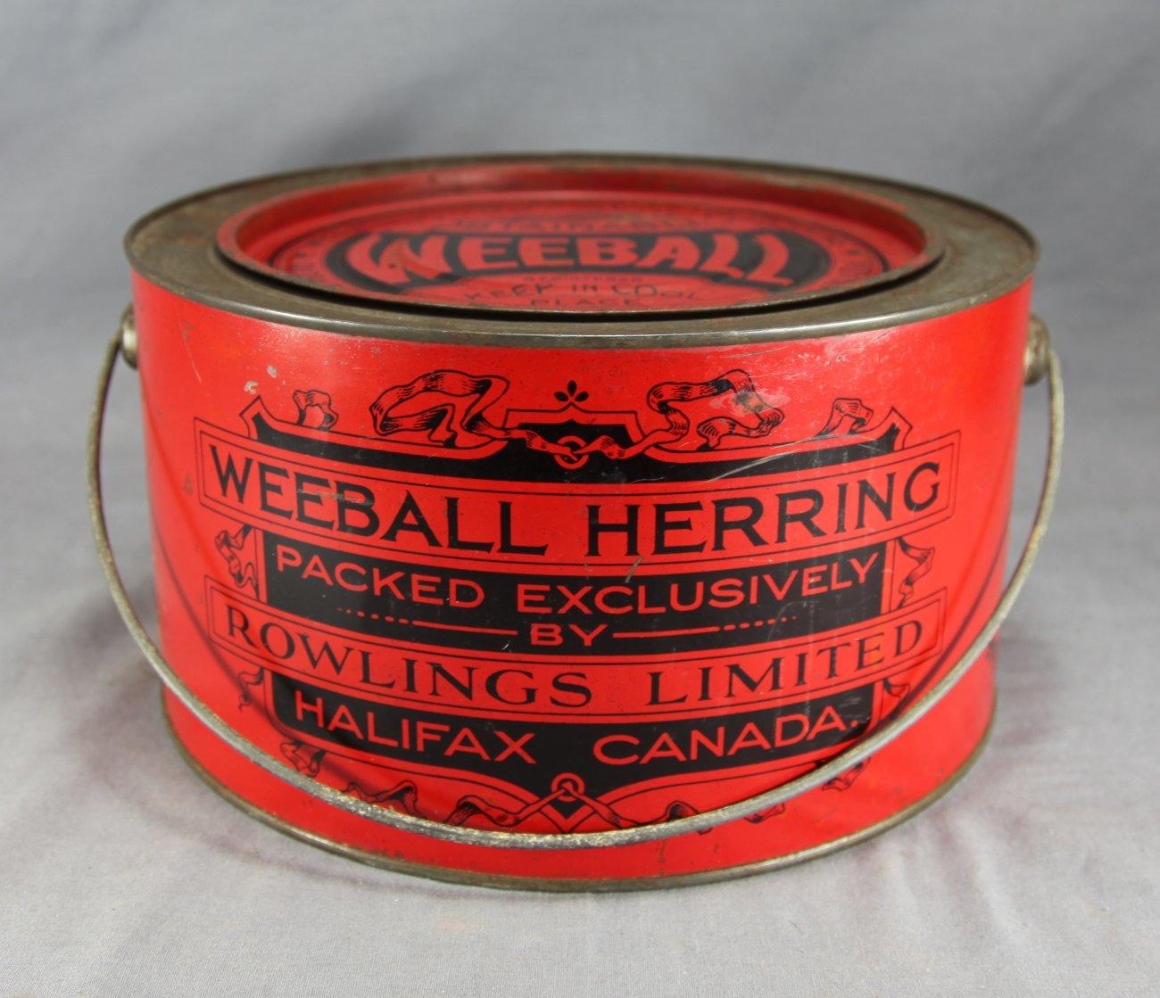 Weeball Herring Halifax Tin
