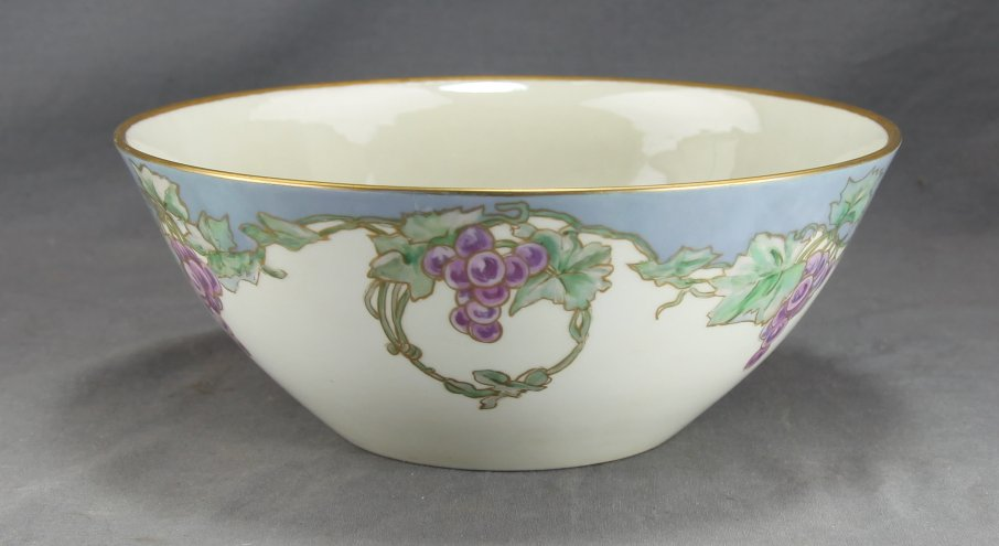 Alice Hagen Painted Porcelain Bowl