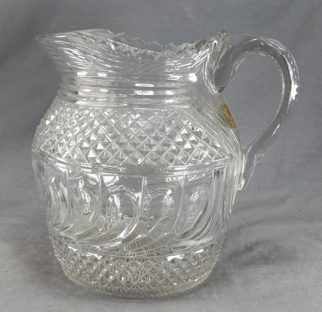 Large Georgian Glass Jug