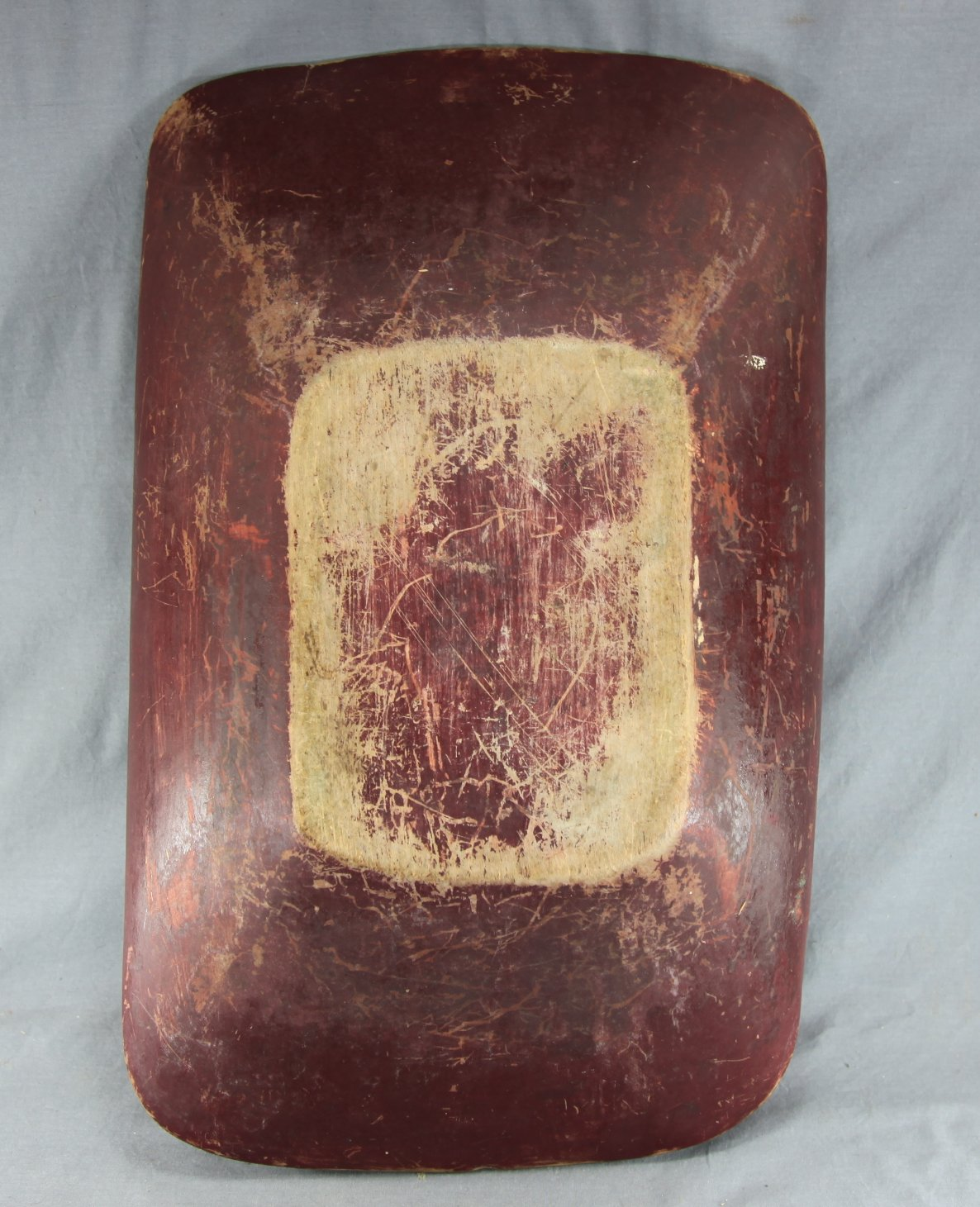 Painted Trencher Bowl