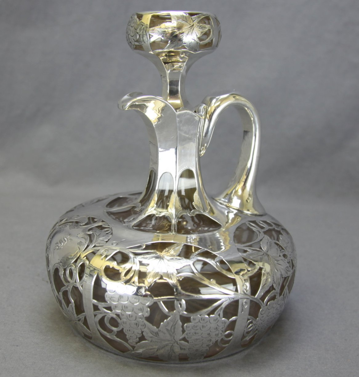 Sterling Overlay Decanter
