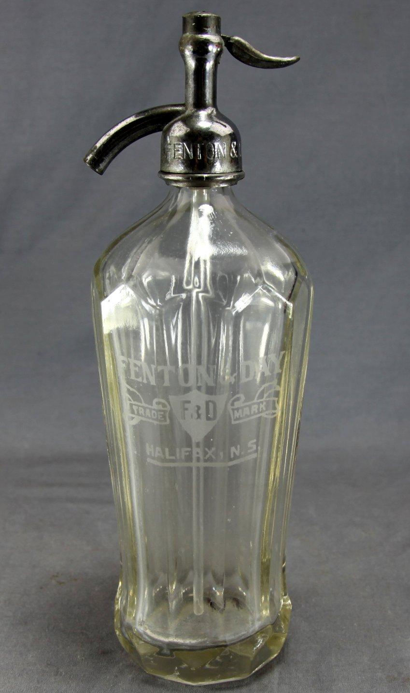 Fenton & Day Soda Syphon Bottle