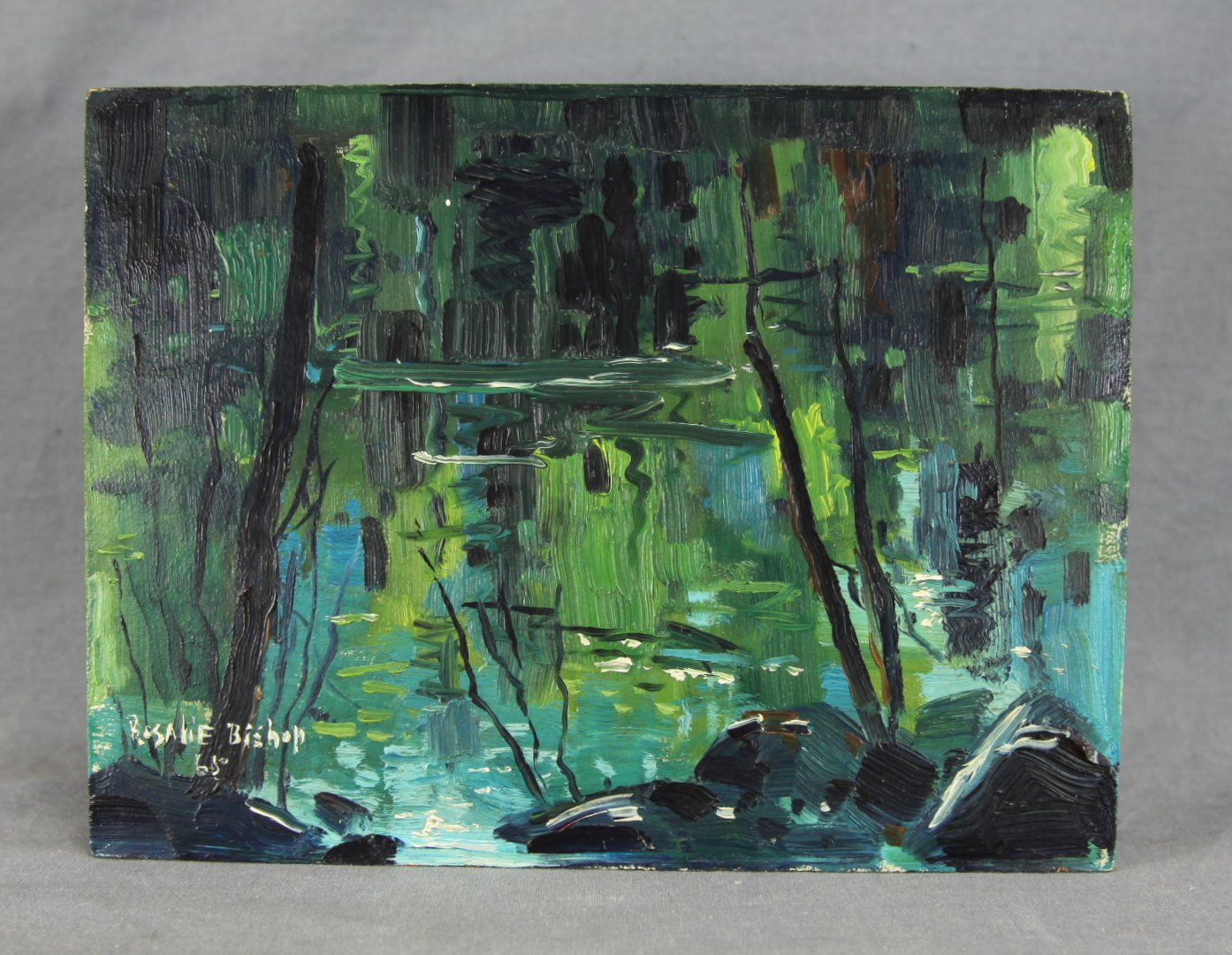 """Beaver Pond"" by Rosalie Bishop"