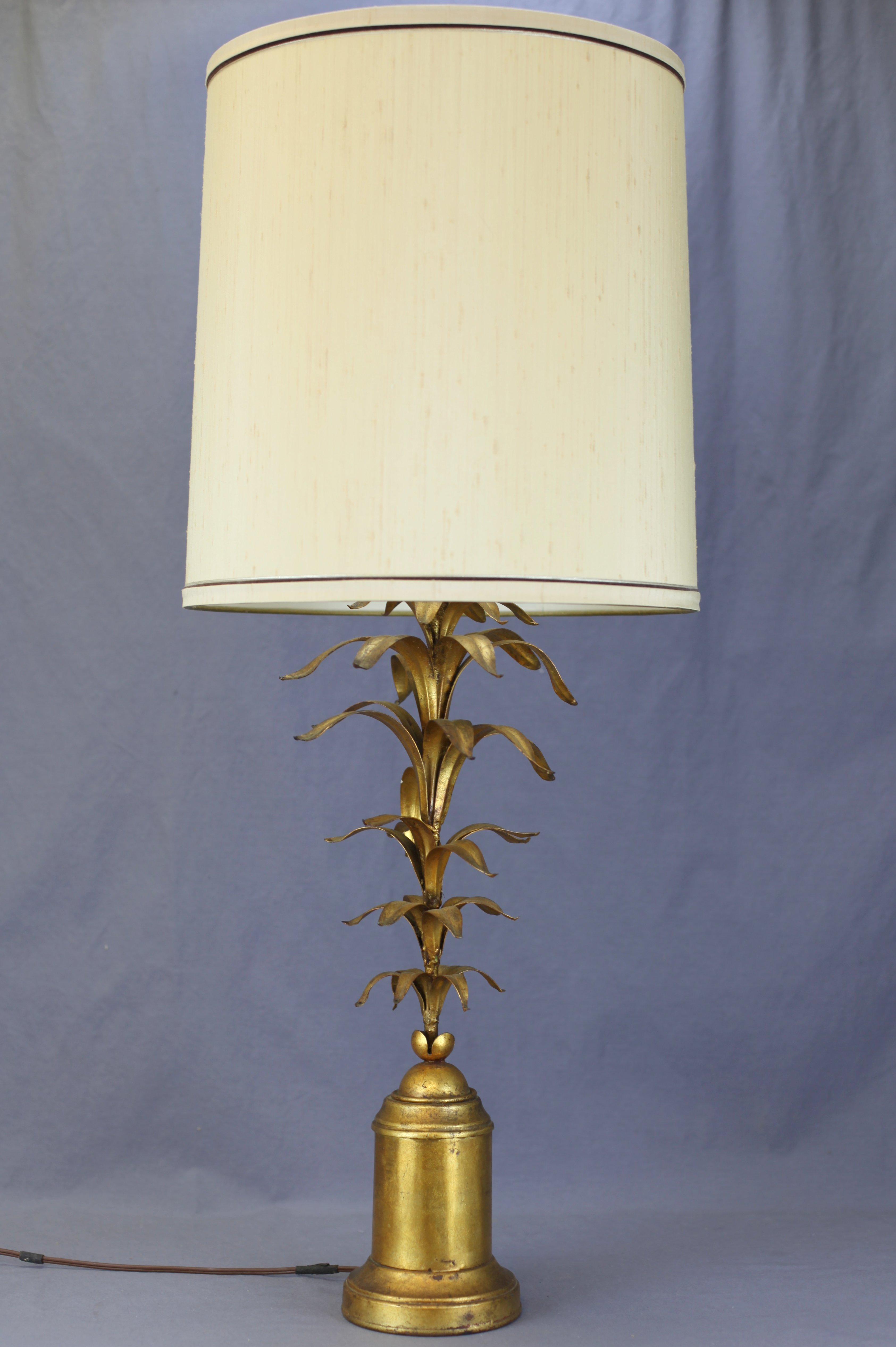 Italian Gilt Table Lamp