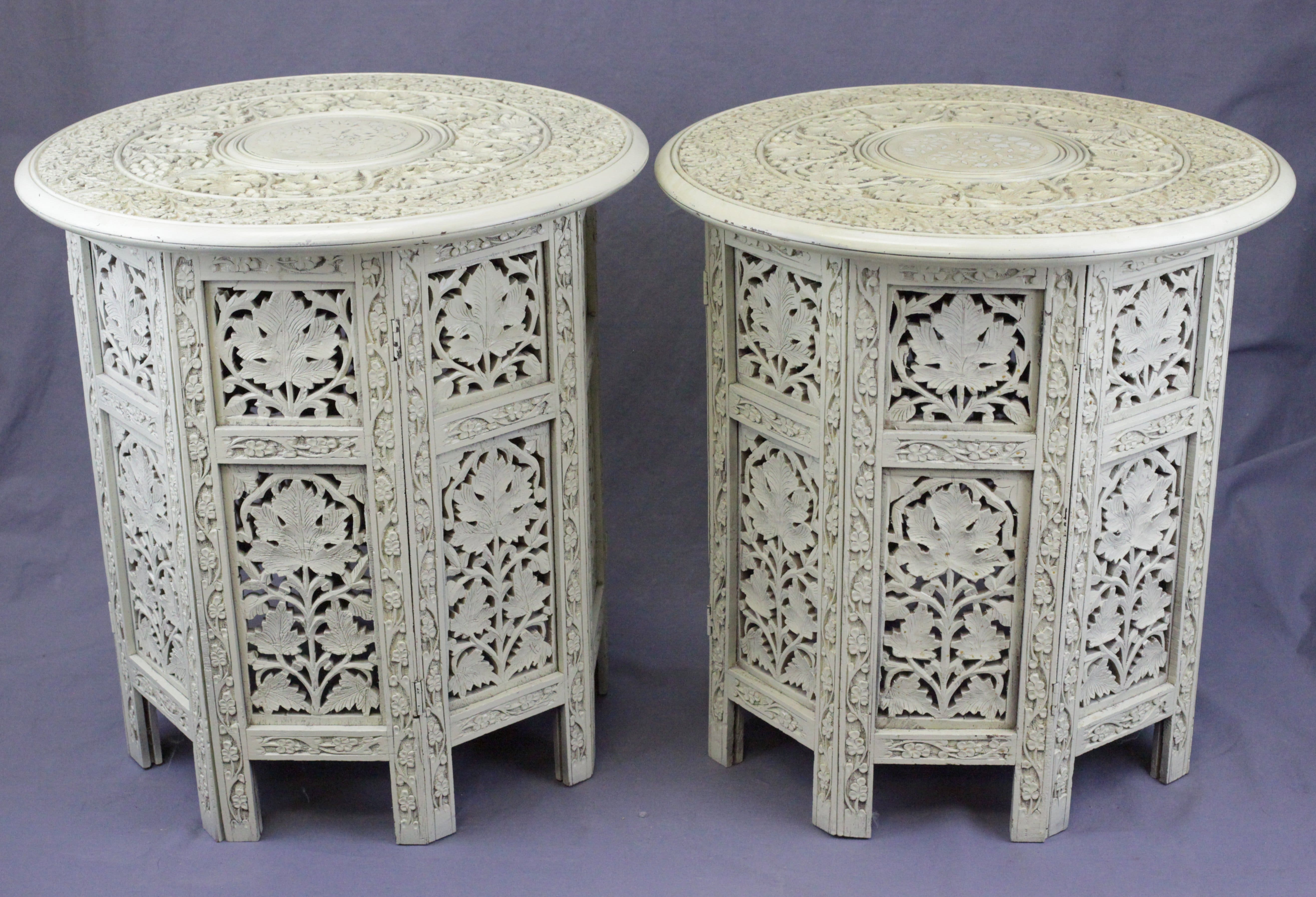 Painted Anglo-Indian Side Tables