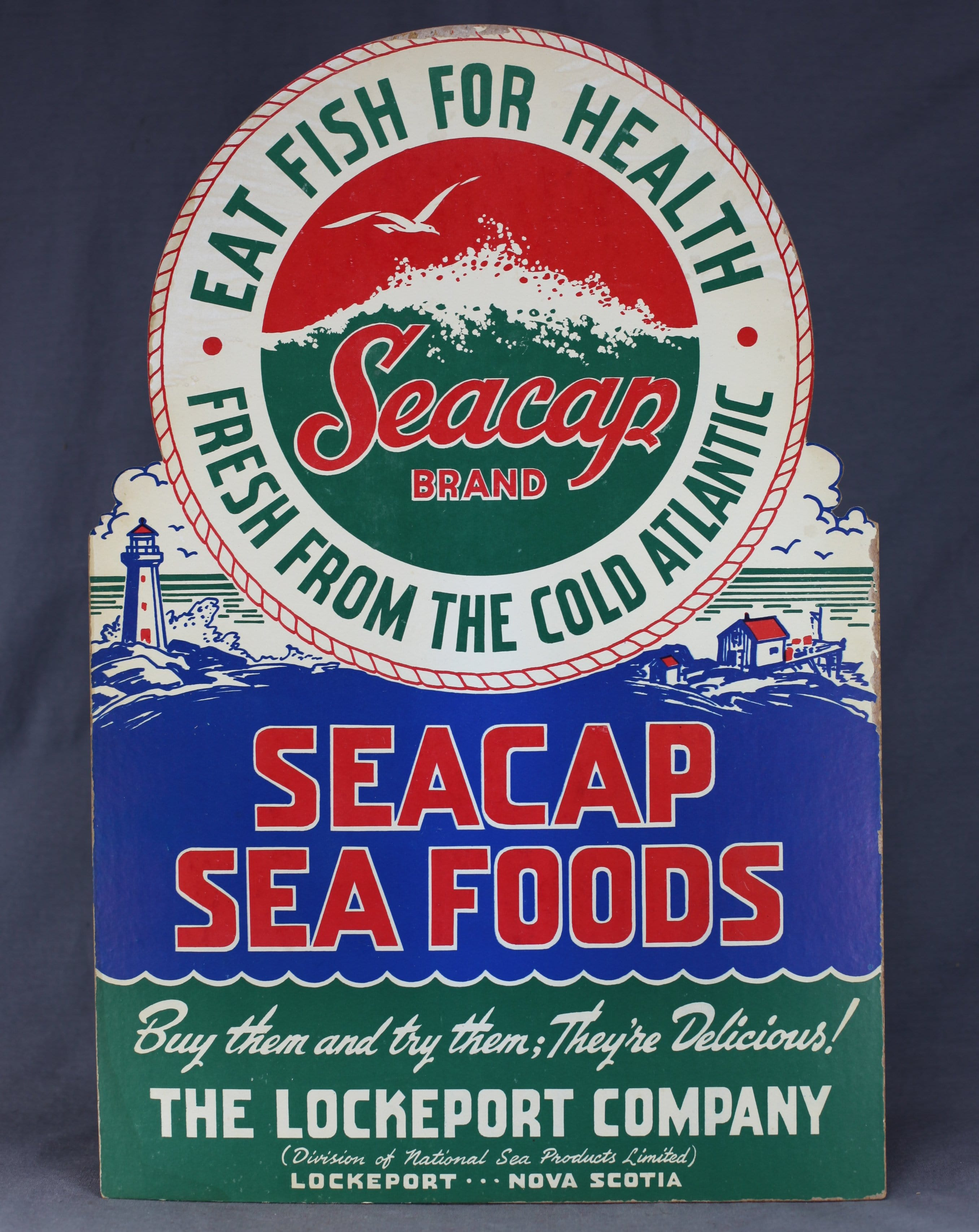 Lockeport Seafood Store Sign
