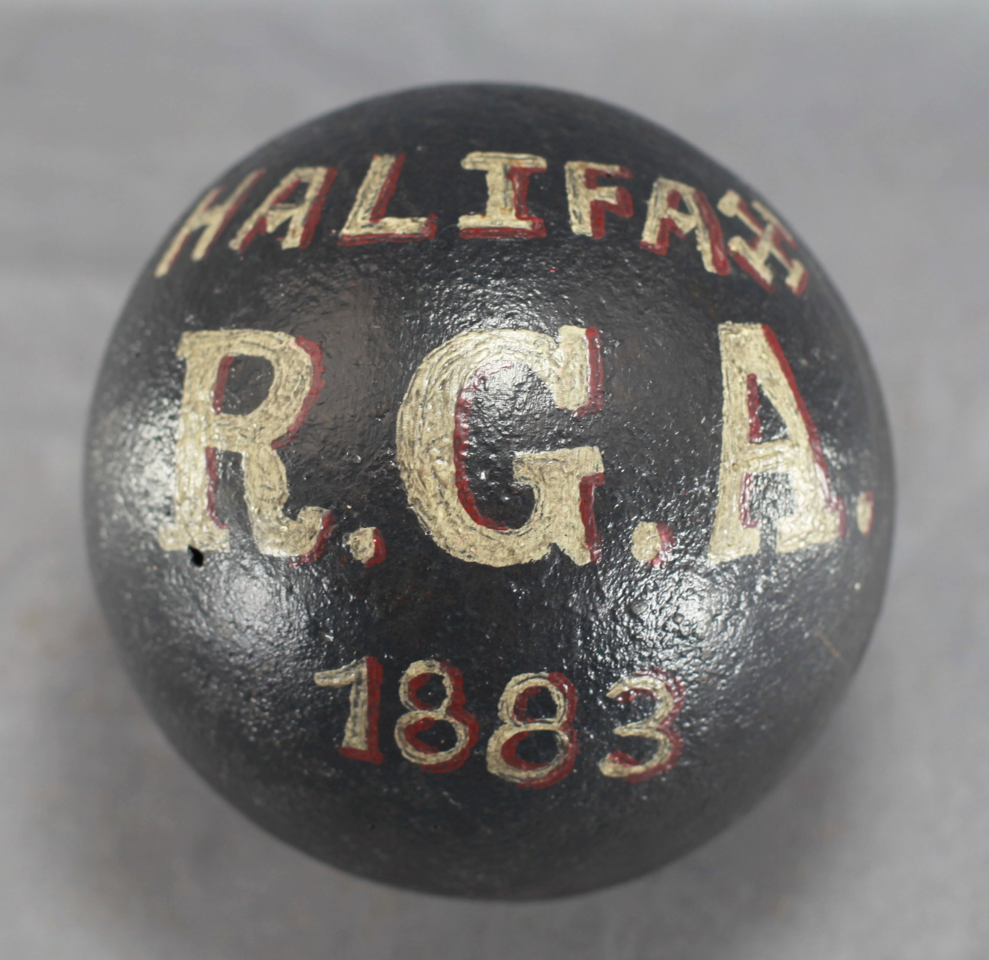 Halifax 32-Pounder Cannon Ball