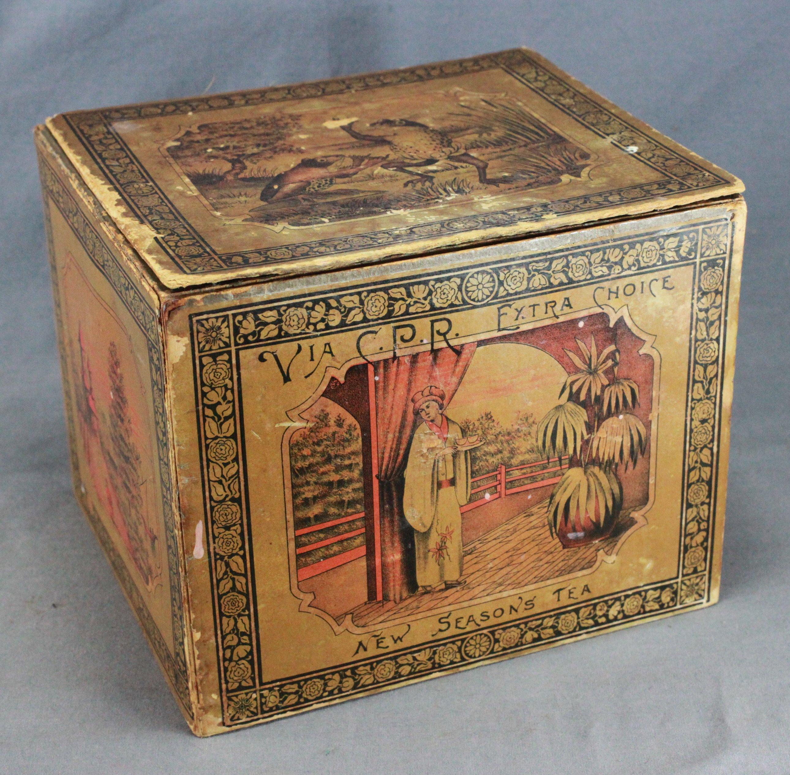 Canadian Pacific Railway Tea Box