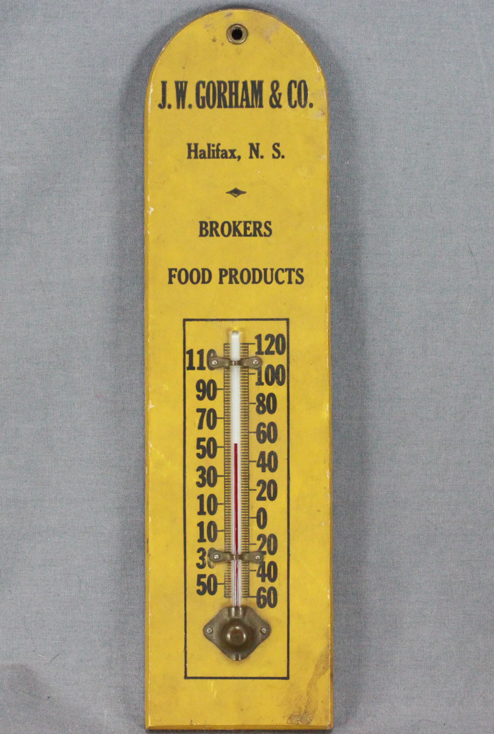 Halifax Advertising Thermometer