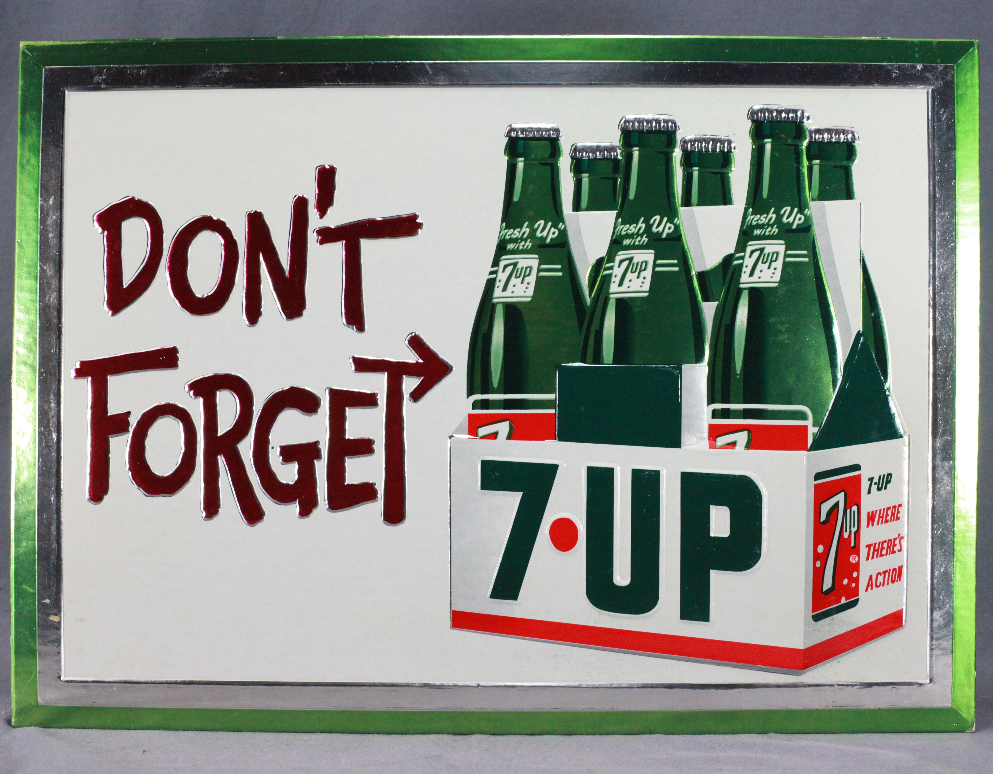 1965 7-Up Sign