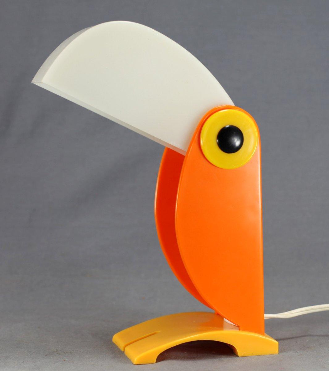 Mid-Century Toucan Lamp