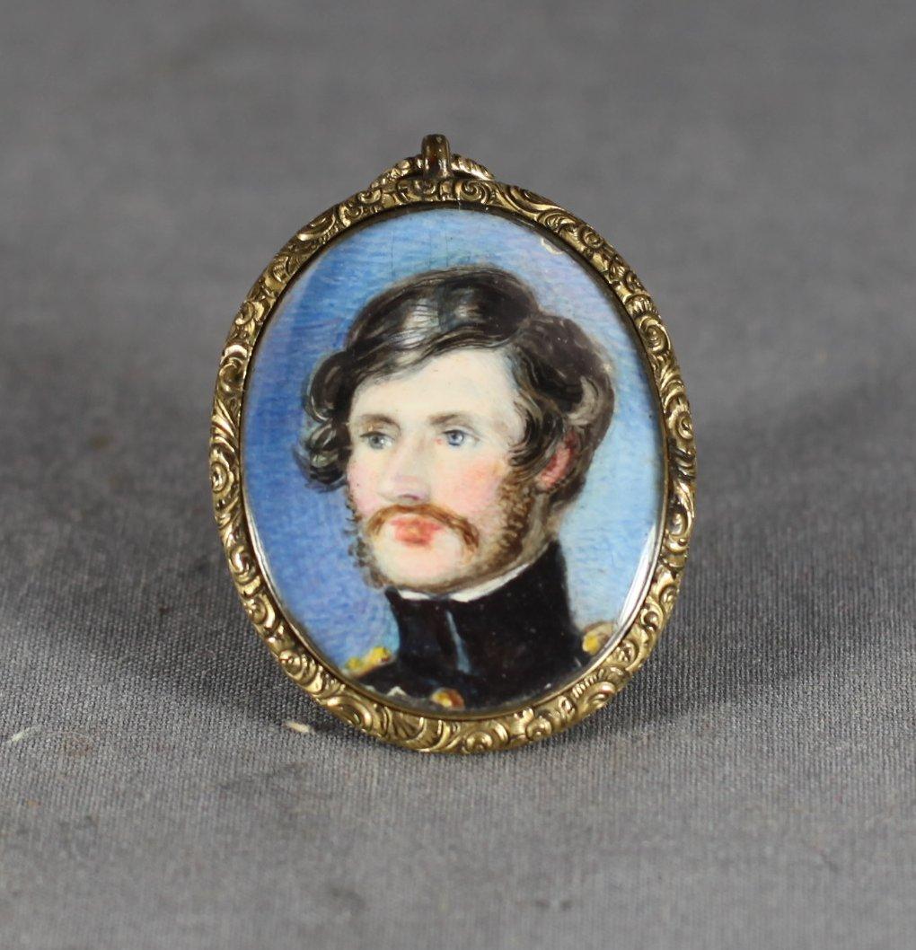 Officer's Portrait Miniature