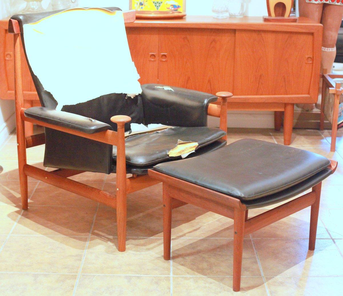 Finn Juhl Bwana Chair & Stool