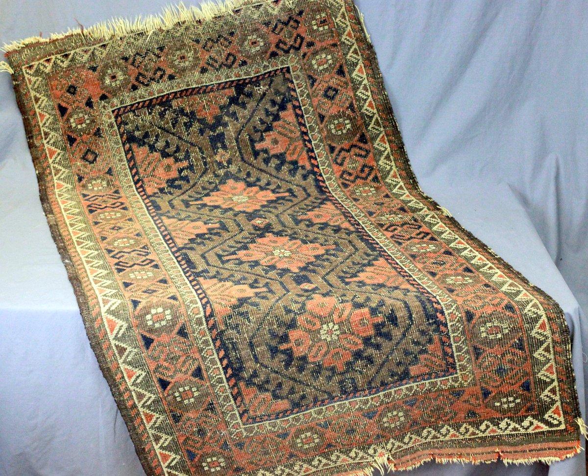 19thC. Persian Mat