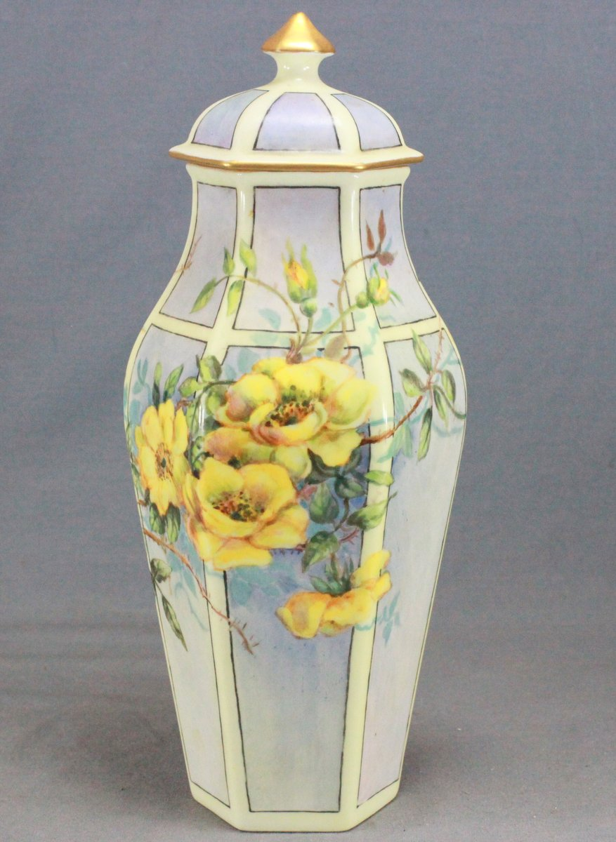 Edith Smith Painted Urn