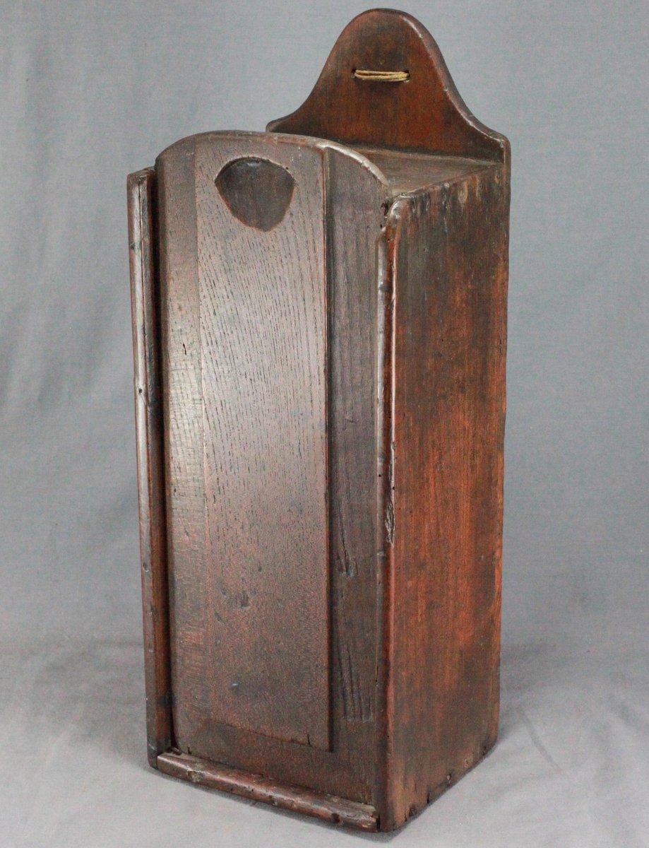 English Oak Candlebox