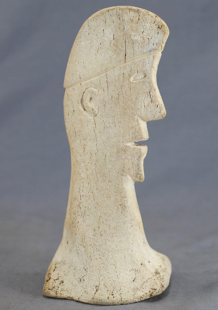 Walrus Bone Inuit Carving