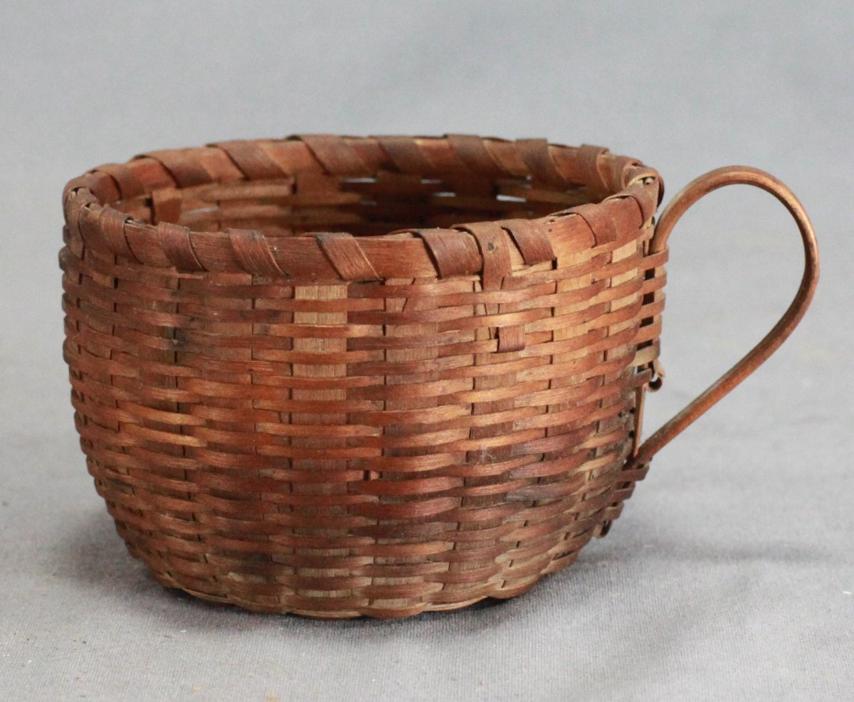 Mi'kmaq Novelty Basketry Teacup