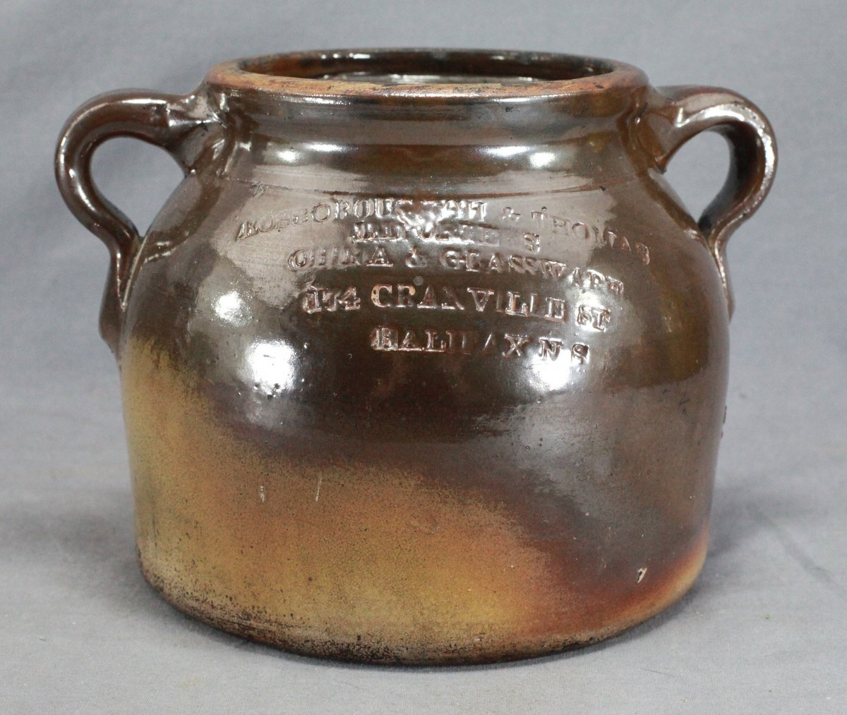Halifax Merchant Bean Crock