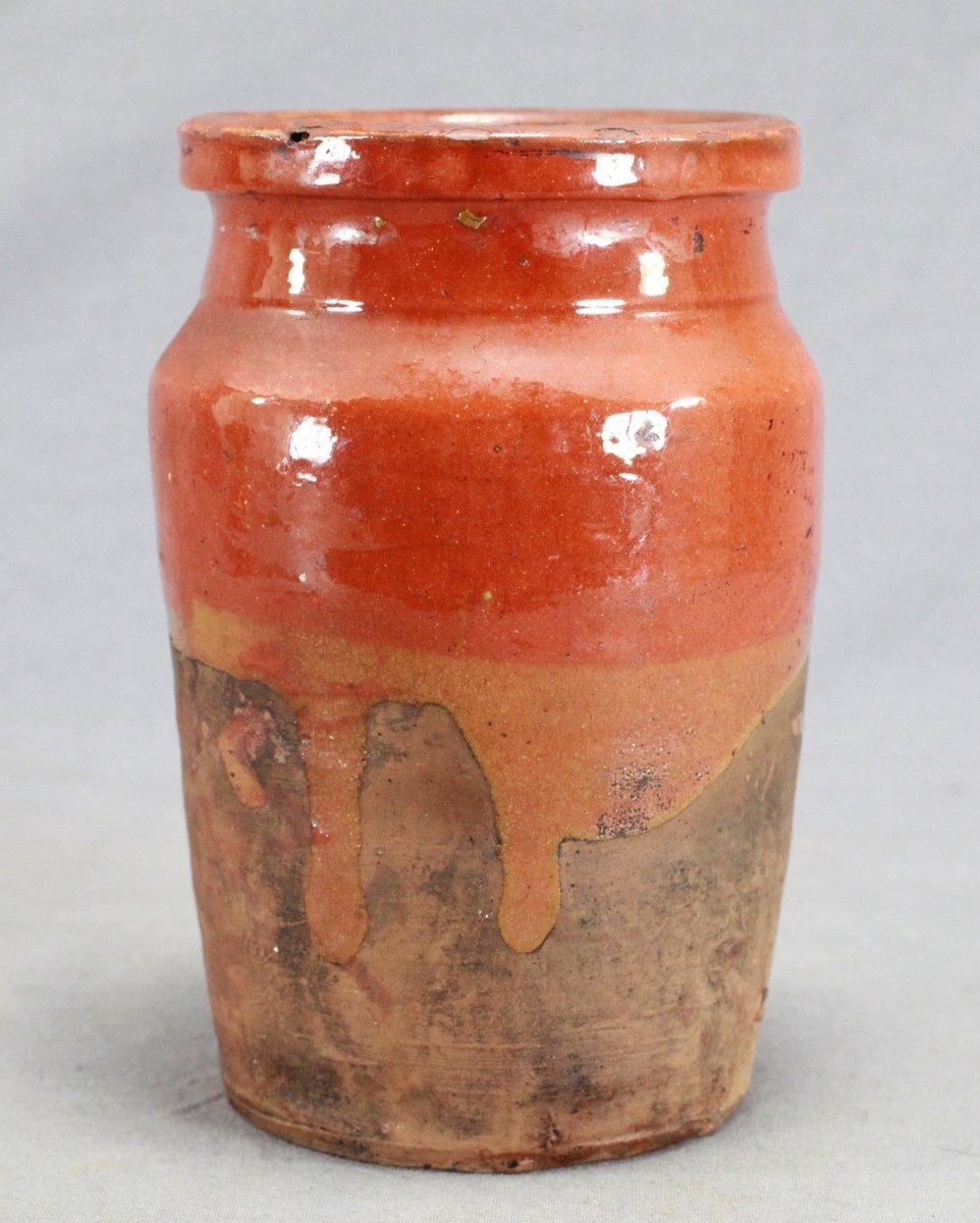 Maritime Redware Jar