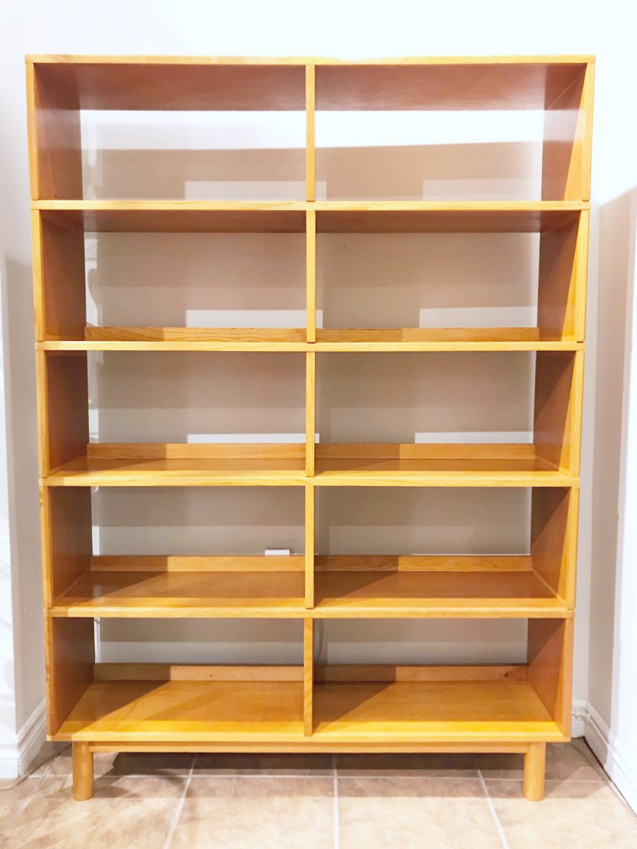 English Oak Stacking Shelves