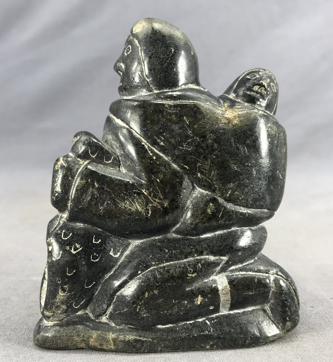 Soapstone Mother & Child