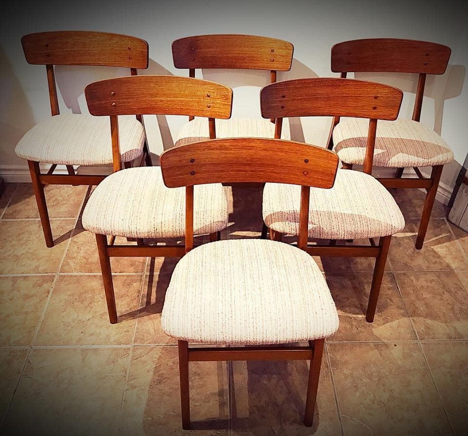 Farstrup Teak Dining Chairs